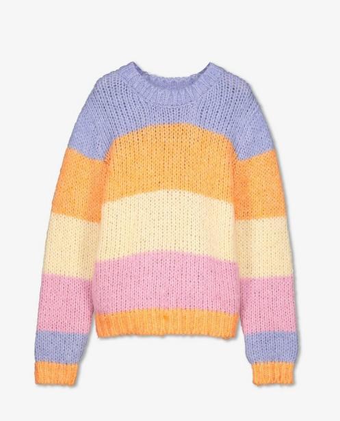Pull en tricot avec un dégradé Pieces - laine - Pieces