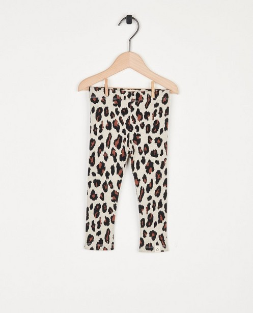 Legging met print Your Wishes - met stretch - Your Wishes