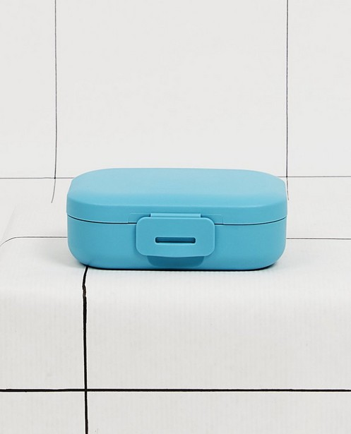 Boîte à snacks bleue Amuse your Day - 109 x 80 x 37mm - JBC