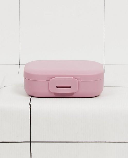 Roze snackbox Amuse Your Day - 109 x 80 x 37 mm - JBC