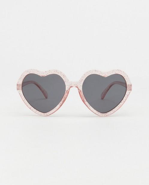 Hartvormige zonnebril - met kunststof montuur - JBC