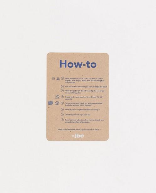Gadgets - Écusson à repasser pour le genou Studio Unique