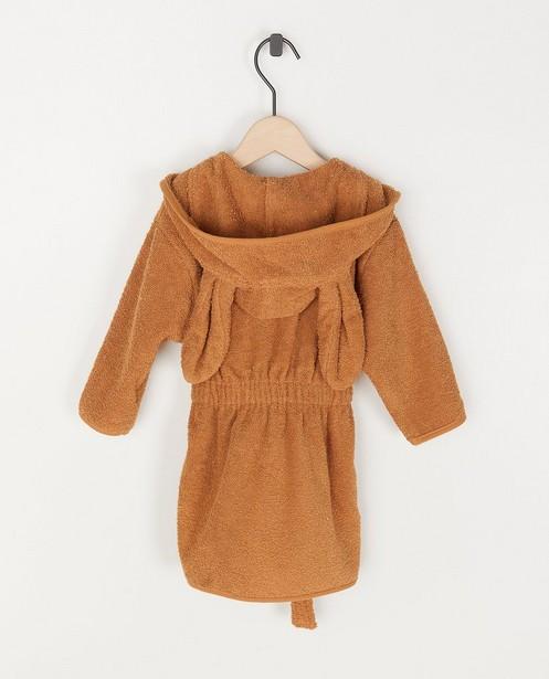 Babyspulletjes - Caramel unisex badjas Jollein