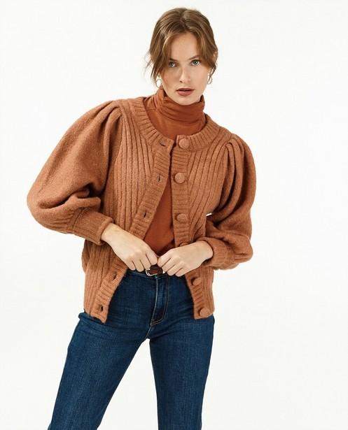 Donkerblauwe jeans - met flared pijpen - Paris