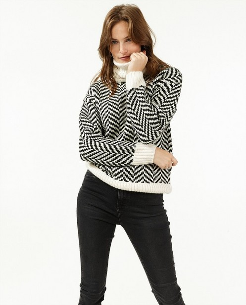 Donkergrijze jeans - skinny - Paris